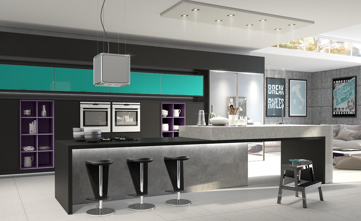 Cozinhas Bonitas Pr Ticas E Seguras Dommanni Alta